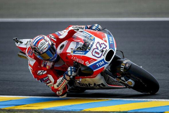 Andrea Dovizioso holte sich die FP2-Bestzeit - Foto: Ducati