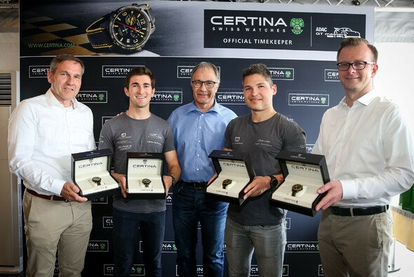 Thomas Voss, Connor De Phillippi, Adrian Bosshard, Christopher Mies, Lars Soutschka - Foto: ADAC GT Masters