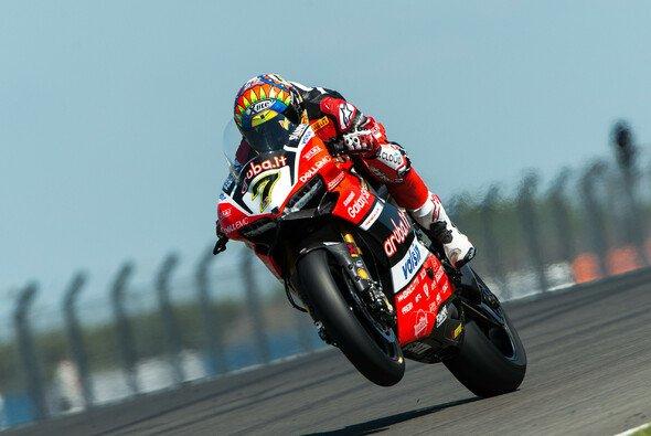 Chaz Davies fährt in Donington Park sein Heimrennen - Foto: Ducati