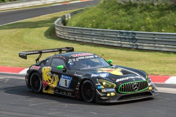Maximilian Götz und seine Teamkollegen belegten Rang neun am Nürburgring - Foto: JUNG Elektrogerätebau GmbH