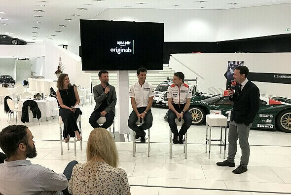 Wir trafen Mark Webber in Stuttgart beim Screening zum neuen Amazon Original 'Le Mans - Racing is Everything' - Foto: Motorsport-Magazin.com