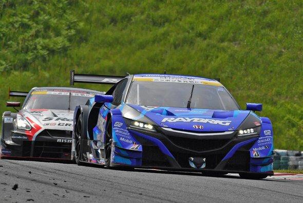 In einem solchen Honda NSX-GT startet Jenson Button bei den 1000 Kilometer von Suzuka - Foto: Super GT