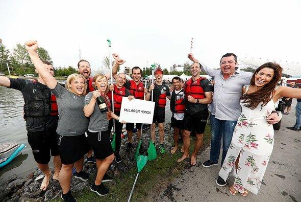 McLaren holte sich in Kanada einen überlegenen Sieg - leider nur auf dem Wasser - Foto: McLaren
