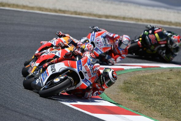 Jorge Lorenzo ist Local Hero in Barcelona - Foto: Ducati