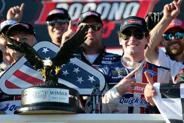 Erster Karriere-Sieg für Ryan Blaney - Foto: NASCAR