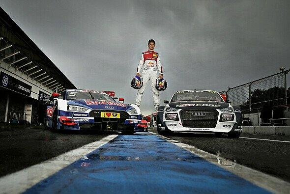 Auf dem Hungaroring erzielte Mattias Ekström einen weiteren Podestplatz - Foto: Audi Sport