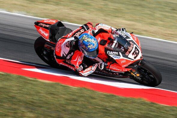 Marco Melandri war am Sonntag in Misano nicht zu schlagen - Foto: Ducati