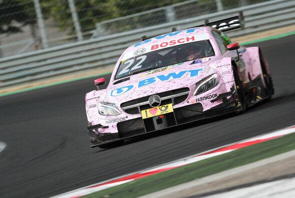 Lucas Auer steigt vom DTM-Mercedes in den Force India um - Foto: DTM