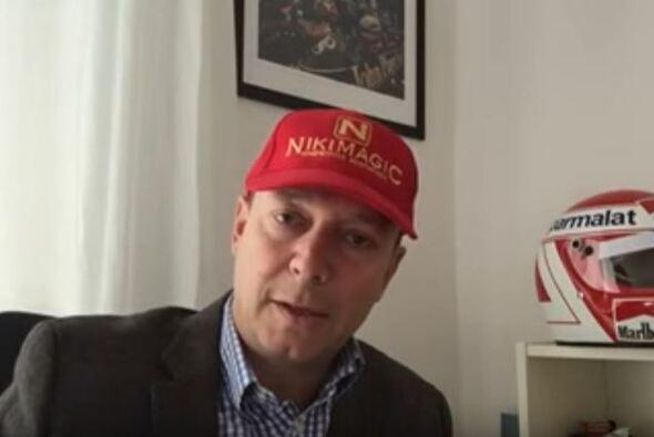Alex Kristan nimmt als Niki Lauda die Formel 1 aufs Korn - Foto: Youtube/Alex Kristan