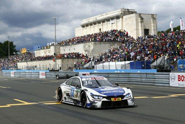 Maxime Martin holte auch am Sonntag den Sieg für BMW - Foto: DTM
