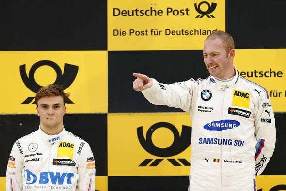 Maxime Martin freute sich über seinen dritten DTM-Sieg - Foto: DTM