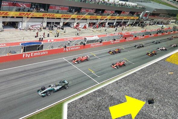 Valtteri Bottas bewegte sich zu früh - aber es wurde kein Frühstart erkannt - Foto: Motorsport-Magazin.com