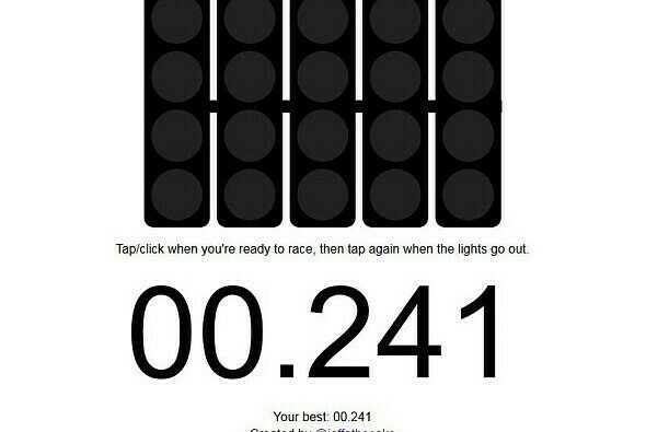 Foto: Screenshot/F1 Start Timer
