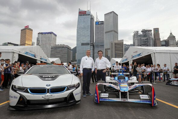 BMW ist bereits Official Vehicle Partner der Formel E - Foto: LAT