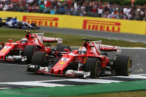 Ferrari flogen in Silverstone die Reifen um die Ohren - Foto: LAT Images