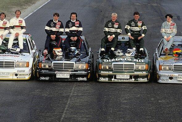 Schneider, Ludwig, Rosberg und Co.: Mercedes-Ikonen unter sich - Foto: Daimler AG