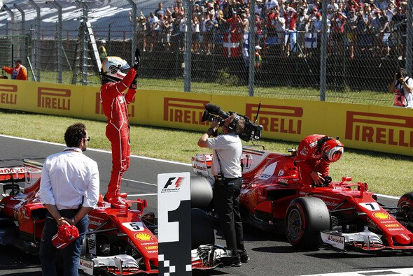 Ferrari dominierte das Qualifying in Ungarn - Foto: LAT Images
