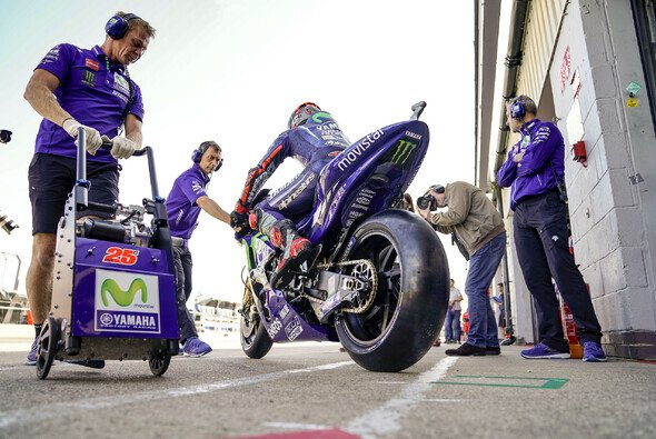 Maverick Vinales fährt seit Silverstone mit einem neuen Yamaha-Chassis - Foto: Yamaha