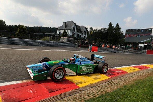Spa 2017: Mick Schumacher im Benetton seines Vaters - Foto: LAT Images