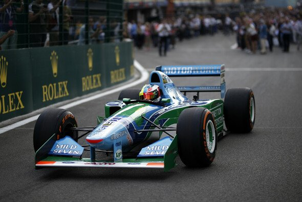 Mick Schumacher schnupperte bisher nur im Benetton seines Vaters Formel-1-Luft - Foto: LAT Images