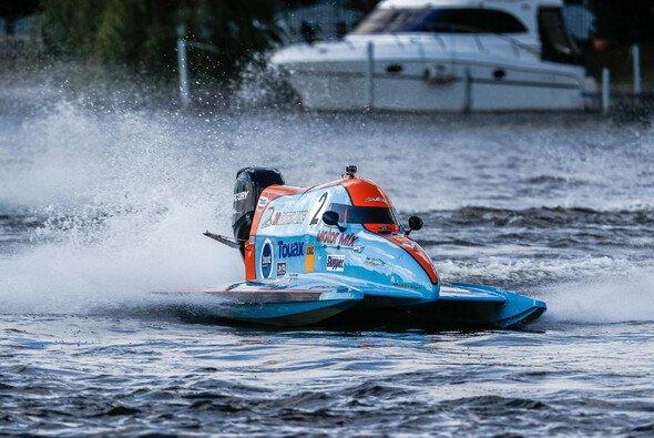 Der französische Langstreckenspezialist Rudy Revert mit toller Leistung in Berlin - Foto: ADAC Motorboot Masters