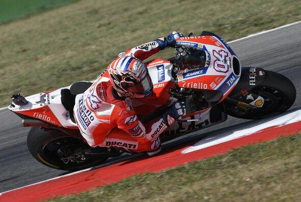 Andrea Dovizioso schießt sich mit Bestzeit auf das Qualifying an - Foto: Ducati