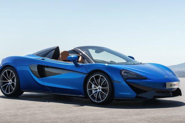 Mit dem McLaren 570 S Spider kann man auf der IAA eine Testfahrt absolvieren - Foto: McLaren