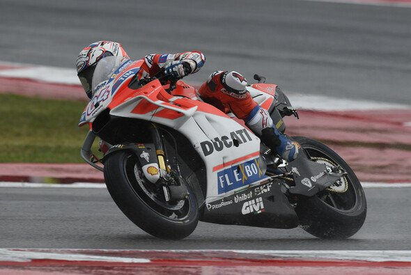 Andrea Dovizioso zeigte wieder einmal sein Können im Regen - Foto: Ducati