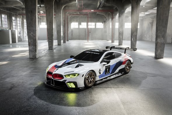 BMW zeigt den M8 GTE für die WEC und die 24 Stunden von Le Mans - Foto: BMW Motorsport
