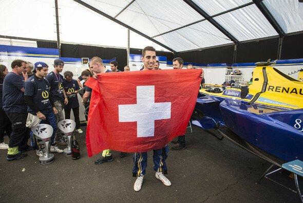 Sebastien Buemi freut sich schon auf sein Formel-E-Heimrennen in Zürich - Foto: LAT Images