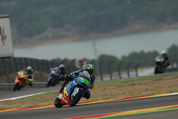 Franco Morbidelli gewinnt in Aragon - Foto: LAT Images