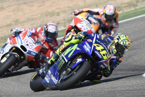 Valentino Rossi beeindruckte bei seinem Comeback in Aragon - Foto: Yamaha