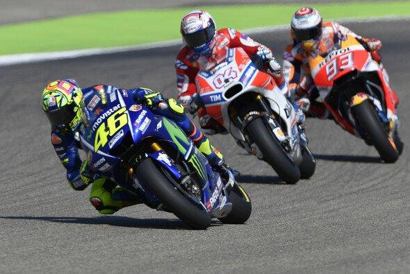 Rossi, Marquez und Co. sind startklar für 2018 - Foto: Yamaha