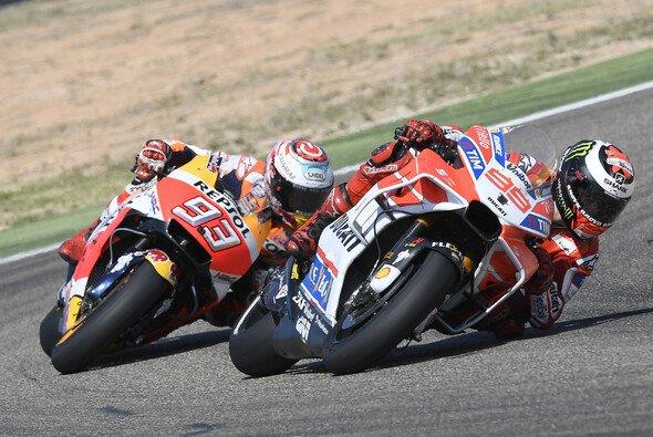 Die MotoGP kämpft um den Sieg in Aragon - Foto: Ducati