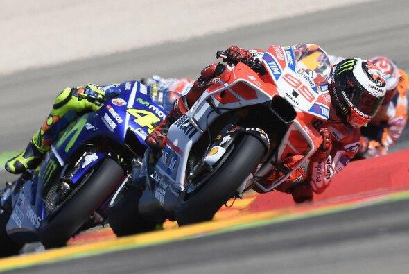 Jorge Lorenzos Aragon GP dauerte bis zur ersten Kurve - Foto: Ducati