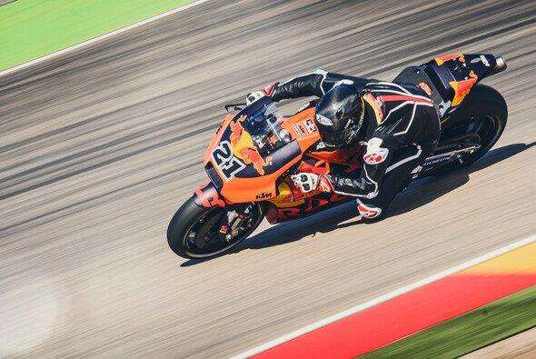 Markus Reiterberger durfte die MotoGP-KTM testen - Foto: KTM