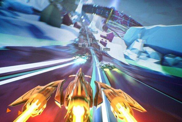 Gegen die Schwerkraft mit der Lightspeed Edition von Redout - Foto: 505 Games