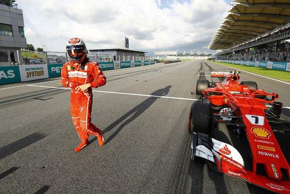 Großes Drama bei Kimi Räikkönen und Ferrari in der Startaufstellung von Malaysia - Foto: LAT Images