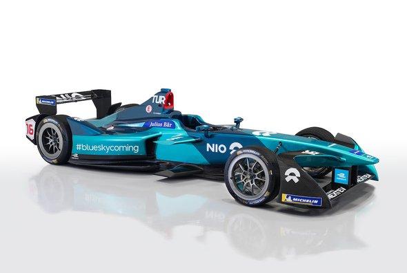 NIO startet mit Luca Filippi und Oliver Turvey in die neue Formel-E-Saison - Foto: NIO Formula E Team