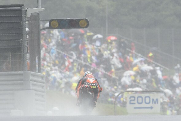 KTM musste sich im Regen von Motegi wieder weiter nach hinten orientieren - Foto: KTM