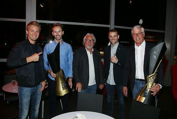 Nico Rosberg flog zur Meister-Party von Rene Rast nach Hockenheim - Foto: Audi Sport