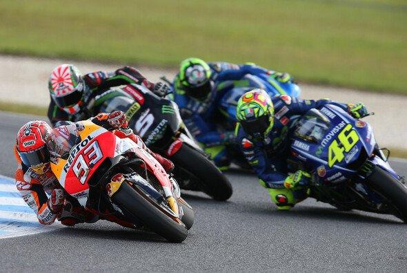 Die MotoGP erlebte ein Feuerwerk - Foto: Repsol