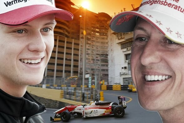 Mick Schumacher startet in Macau - Vater Michael siegte 1990 - Foto: Motorsport-Magazin.com/Collage