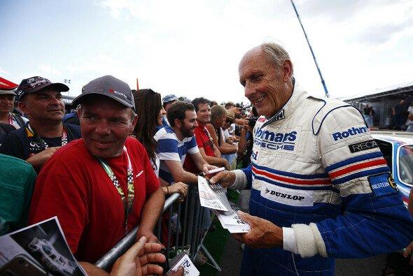 DMSB-Präsident Strietzel Stuck genießt die Formel E ohne Motoren-Sound - Foto: LAT Images