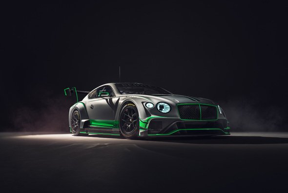 Der Bentley Continental GT3 für 2018 - Foto: Bentley Motorsport