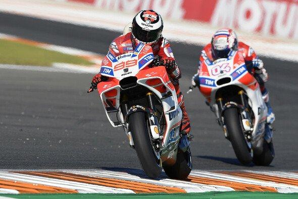 Andrea Dovizioso kam in Valencia nicht an Jorge Lorenzo vorbei - Foto: Ducati