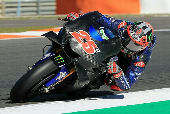 Yamahas neue Winglets sorgten für Aufsehen bei den MotoGP-Tests in Valencia - Foto: LAT Images
