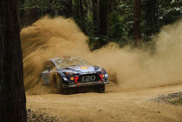 Thierry Neuville erzielte die Bestzeit im Shakedown der Rallye Australien - Foto: Hyundai