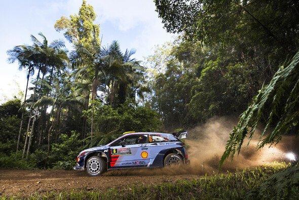 Andreas Mikkelsen bestreitet seine dritte Rallye für Hyundai - Foto: Hyundai