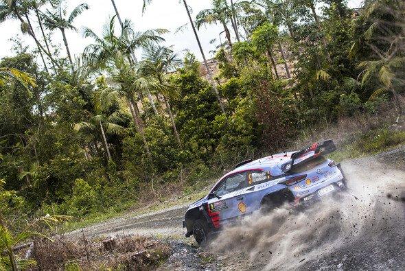 Auf dem Weg zum Australien-Sieg: Thierry Neuville - Foto: Hyundai